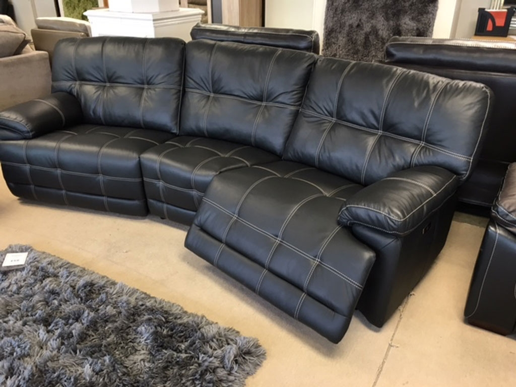 Sofas Ndf Furniture With Regard To Curved Recliner Sofa (Image 15 of 15)