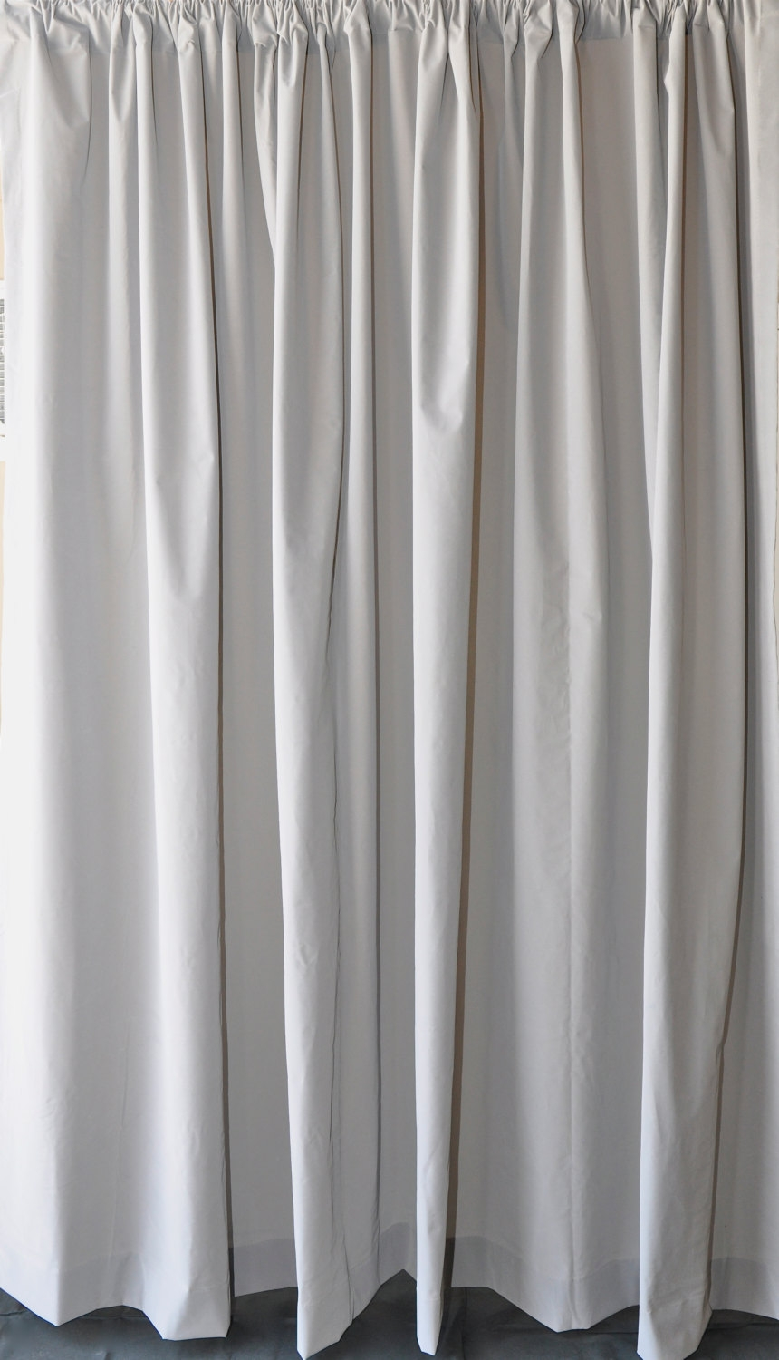 Solid Gray Velvet Fabric Curtain 96 Inch High Long Panel Custom Inside Velvet Material For Curtains (Image 10 of 15)