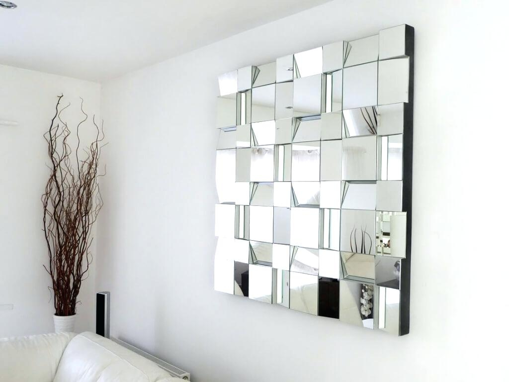 Firebrandcattery Creating Oversized Wall Mirrors: 15 Photos Large Square Mirror