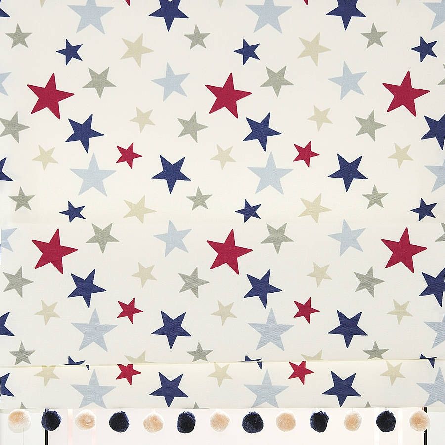 Stars Roman Blind Company Products And Nurseries With Regard To Kids Roman Blinds (Image 13 of 15)