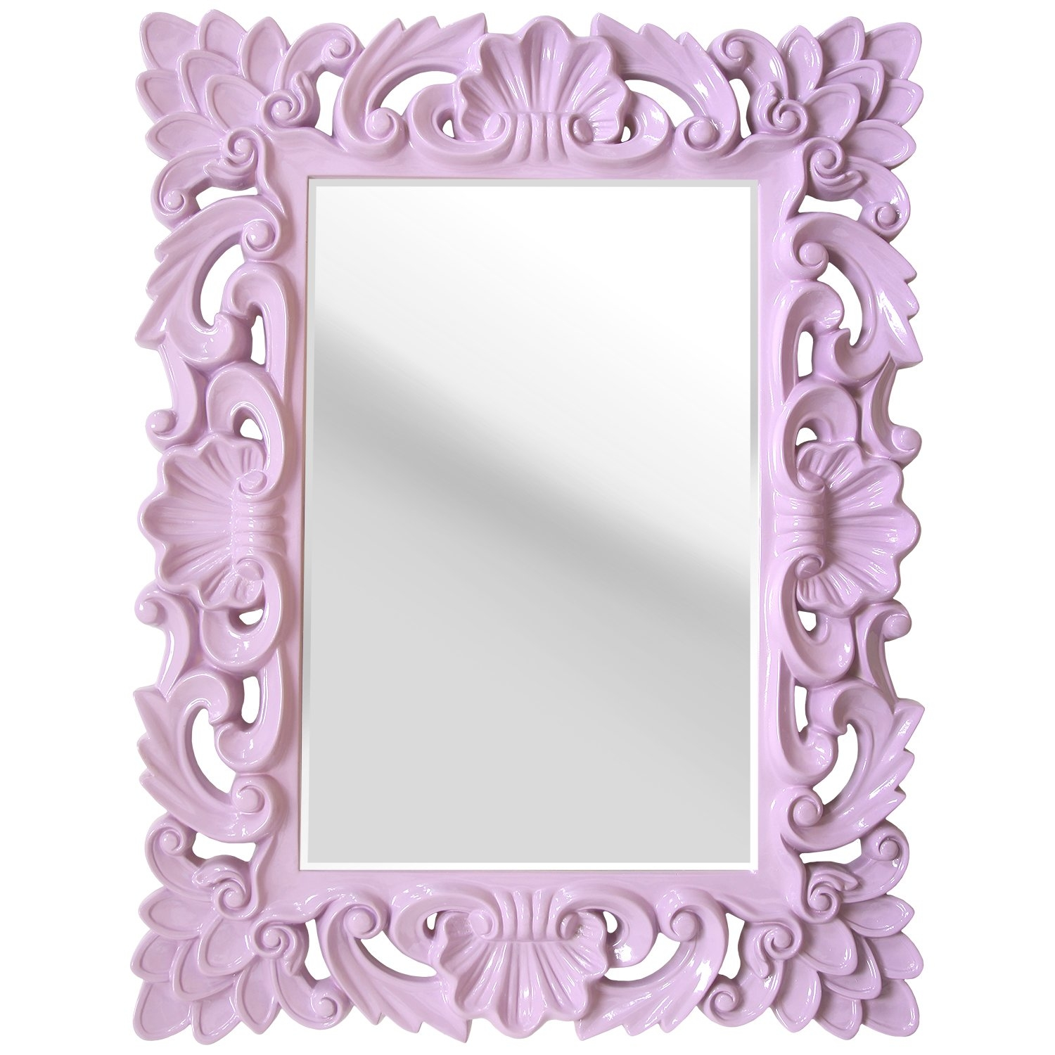 Stratton Home Decor Elegant Ornate Wall Mirror Reviews Wayfair Throughout Ornate Wall Mirror (Image 10 of 15)