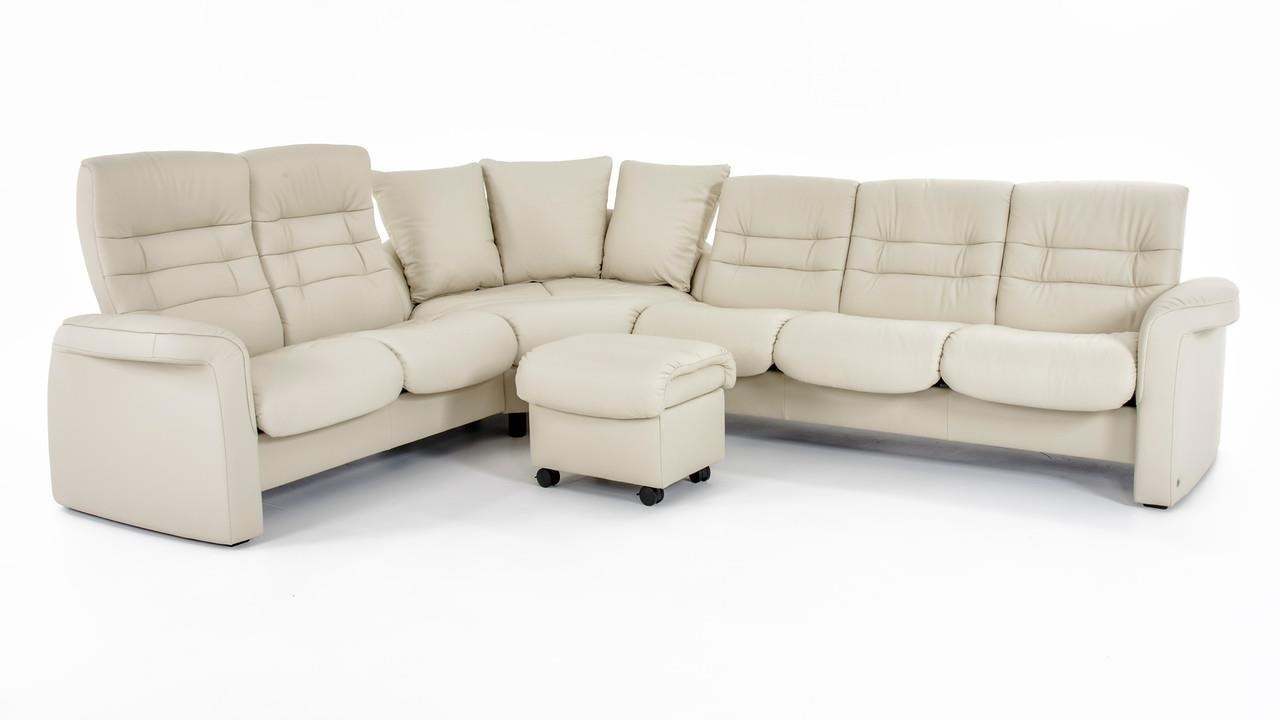 Stressless Ekornes Stressless Sapphire Four Piece Reclining Regarding Ekornes Sectional Sofa (Image 13 of 15)