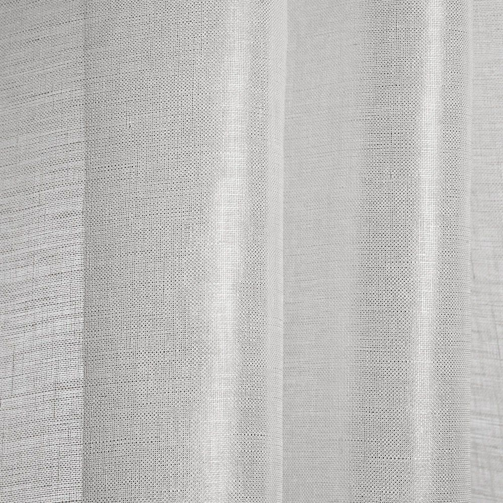 Striped Sheer Curtain Fabric Linen Brina Dedar Milano Inside Linen Fabric For Curtains (Image 13 of 15)