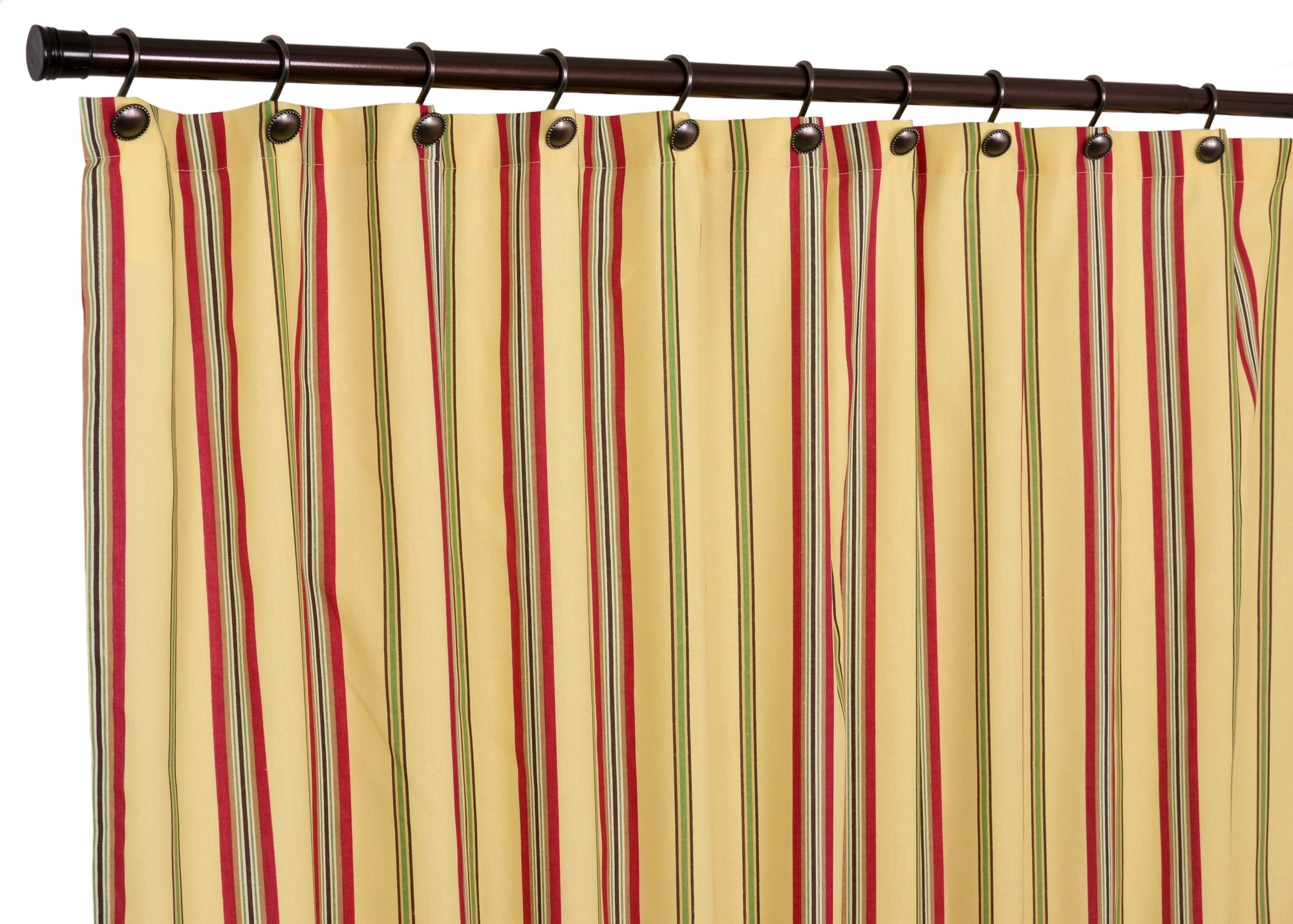 Striped Shower Curtain Multicolor Striped Shower Curtain For Multi Coloured Striped Curtains (Image 14 of 15)
