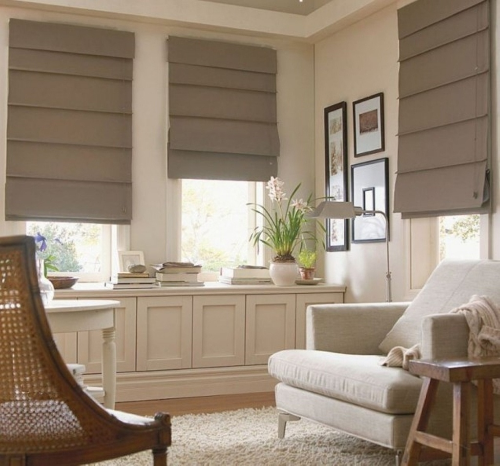Stunning Contemporary Window Treatments Luxury Design Style For Luxury Roller Blinds (Image 15 of 15)