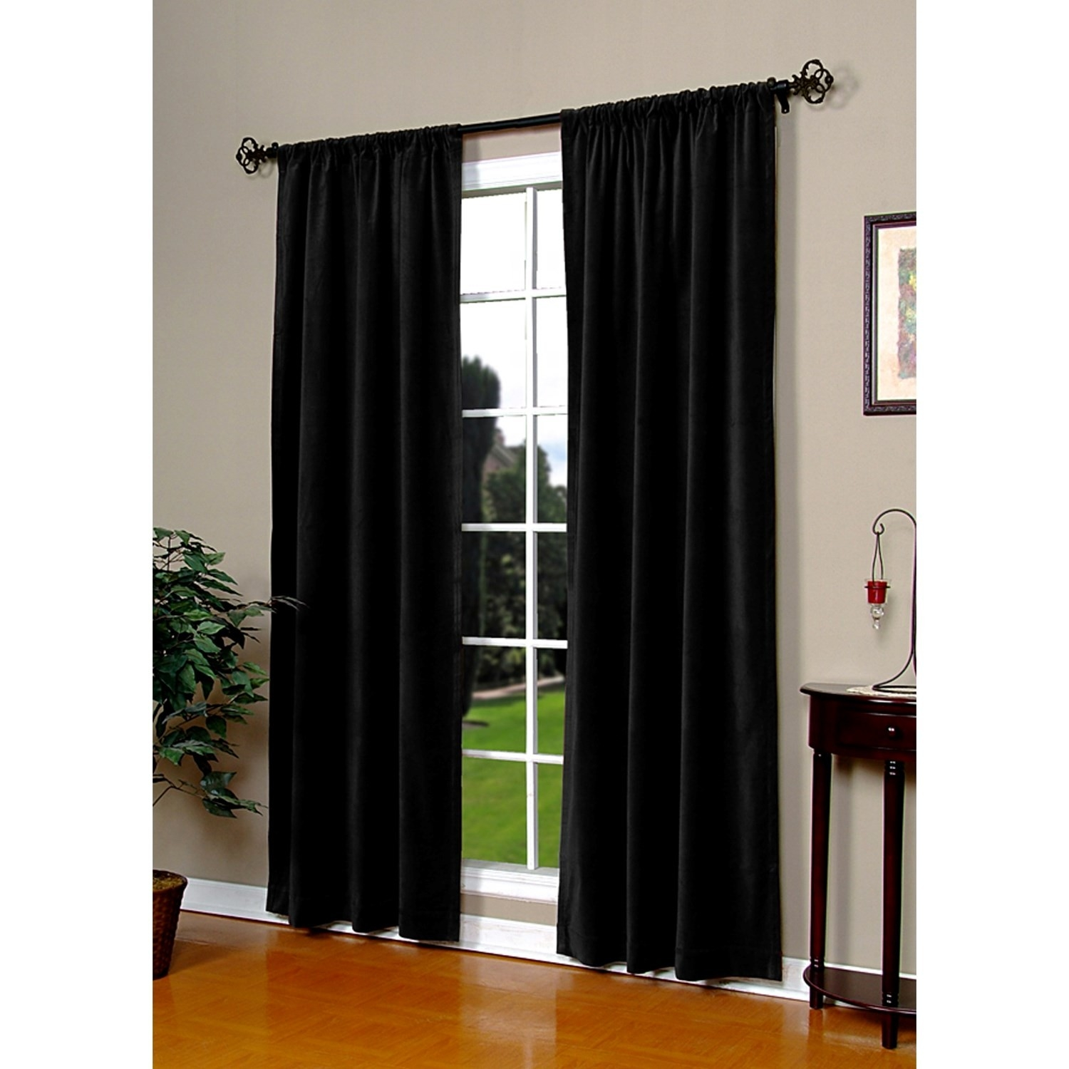 Stunning Velvet Door Curtain Ebay Door Panel Gold Velvet Curtain With Regard To Velvet Door Curtain (View 5 of 15)