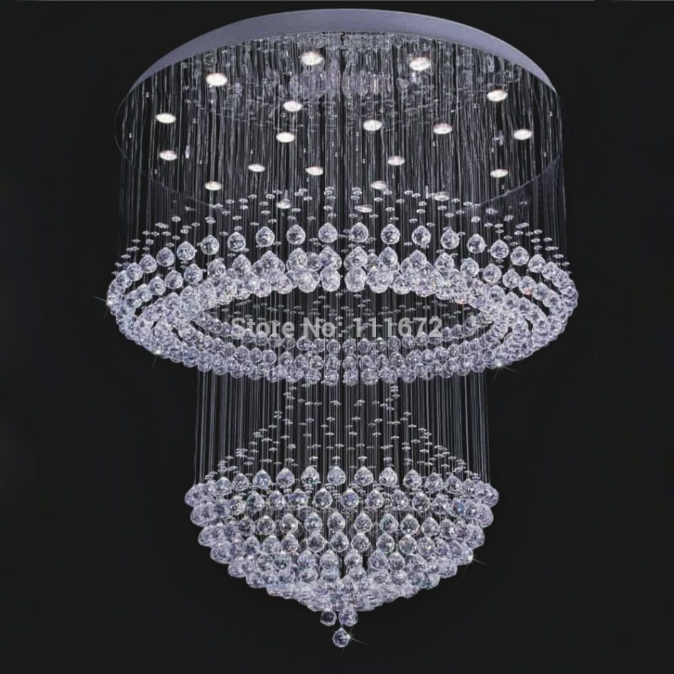 Stylish Large Contemporary Chandeliers Modern Light Fixtures Regarding Large Contemporary Chandeliers (Image 15 of 15)