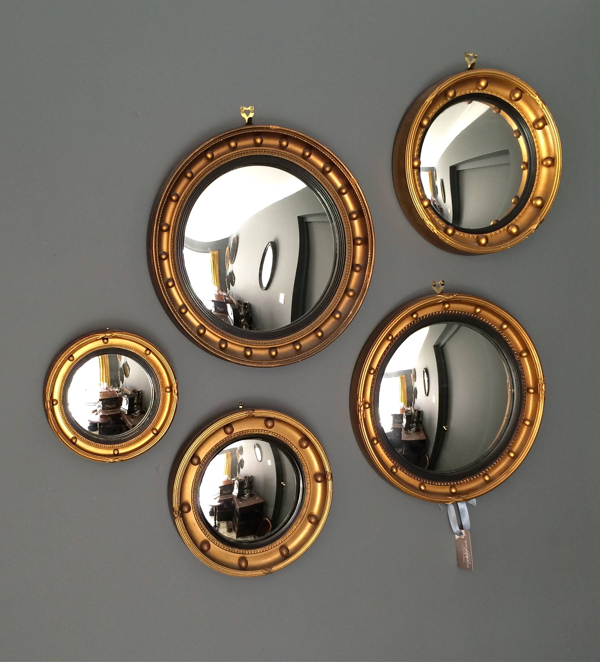 Summer Styling The Decorative Antique Way At Bowden Knight Within Convex Mirror Decorative (View 6 of 15)