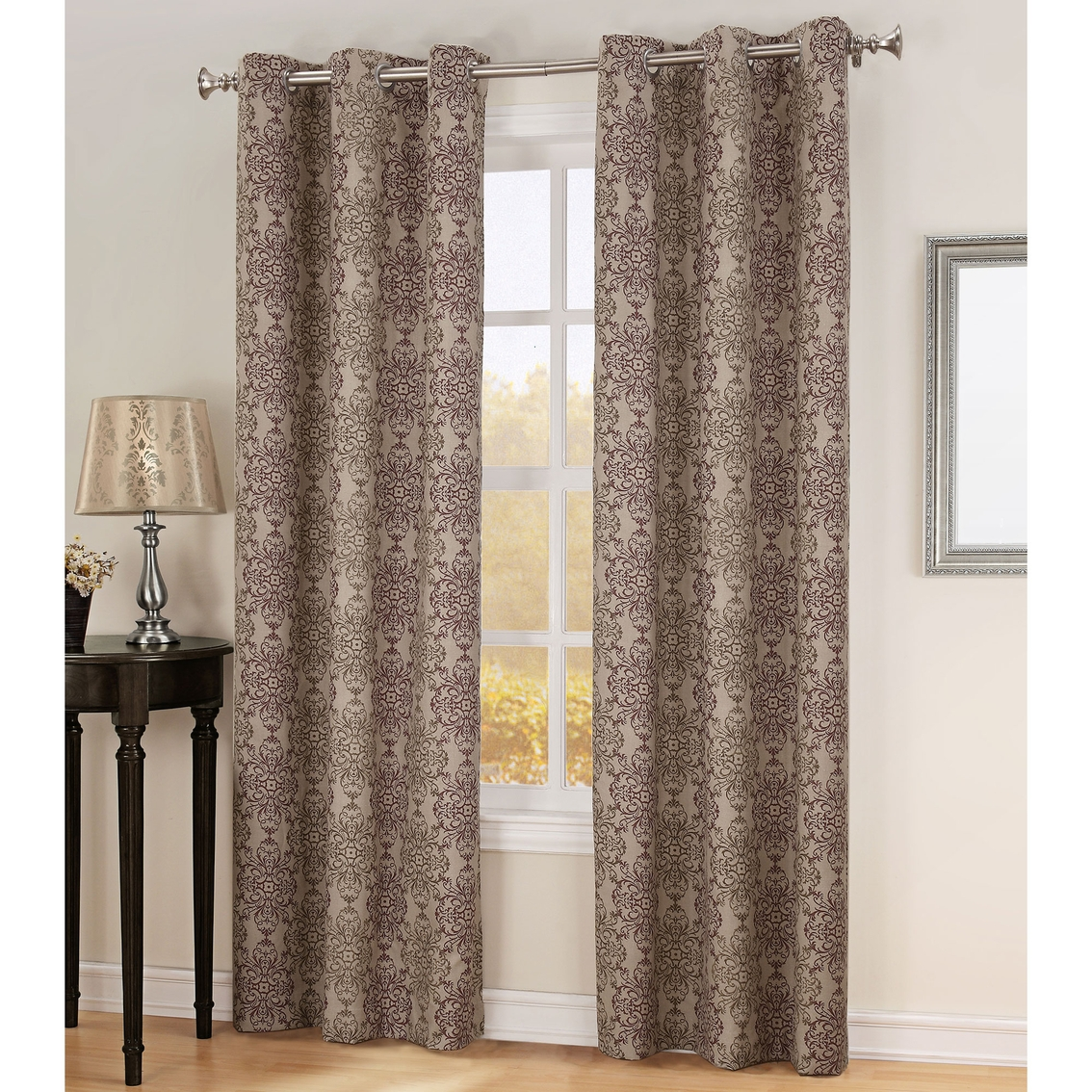 Sun Zero Anika Thermal Lined Curtain Panel Curtains Drapes Within Thermal Lined Drapes (Image 12 of 15)