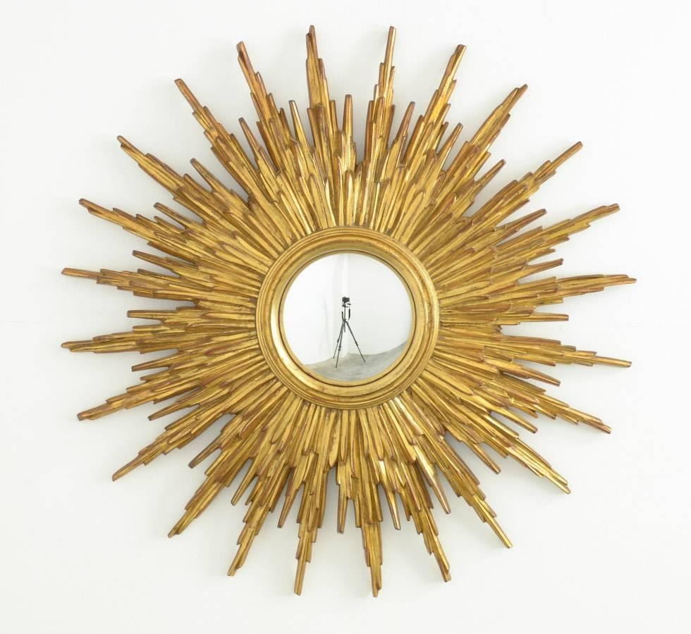 Sunburst Mirror Crafthubs With Regard To Large Sunburst Mirrors For Sale (Image 12 of 15)