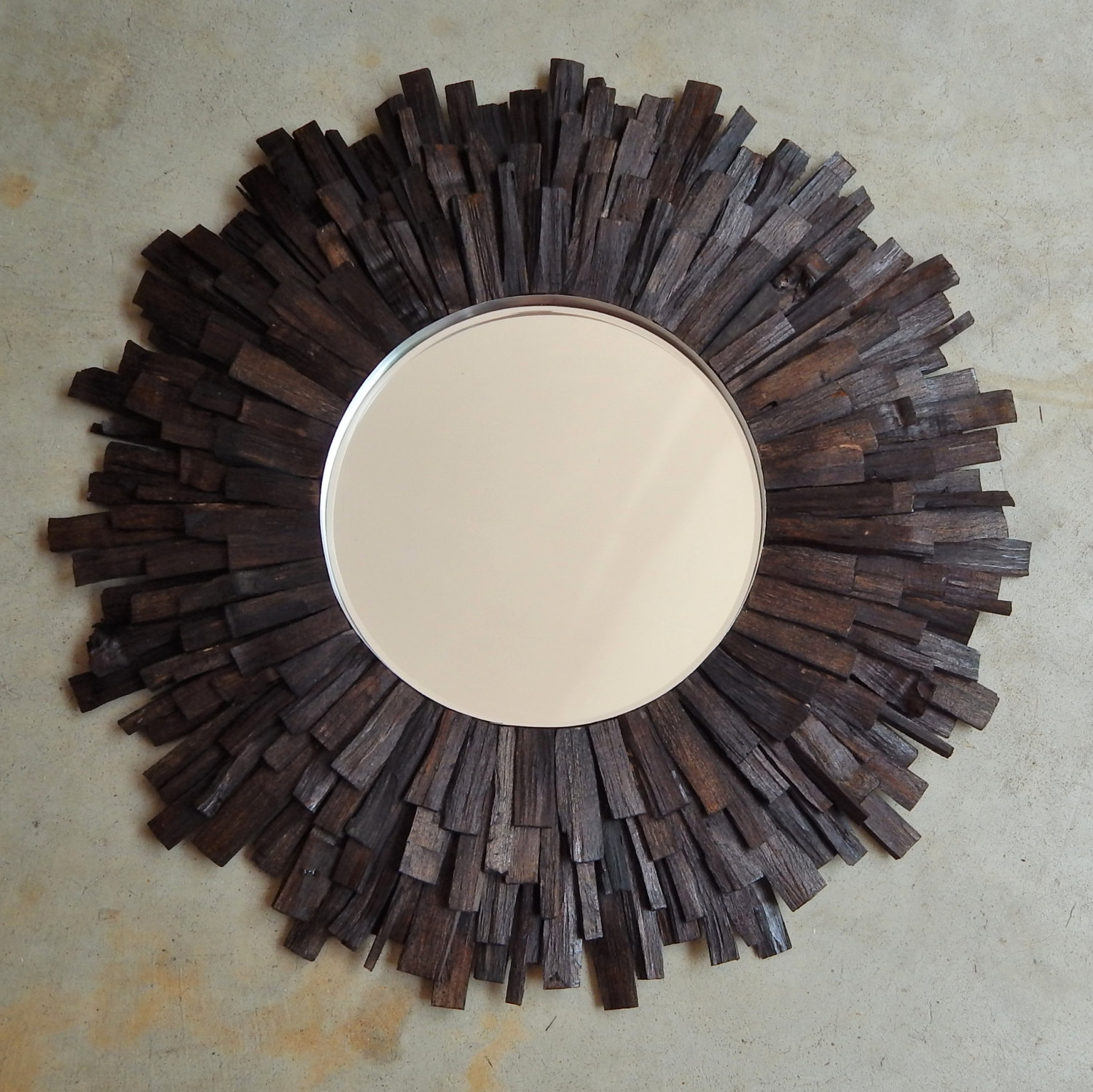 Sunburst Mirror Etsy Within Large Sunburst Mirrors For Sale (View 5 of 15)