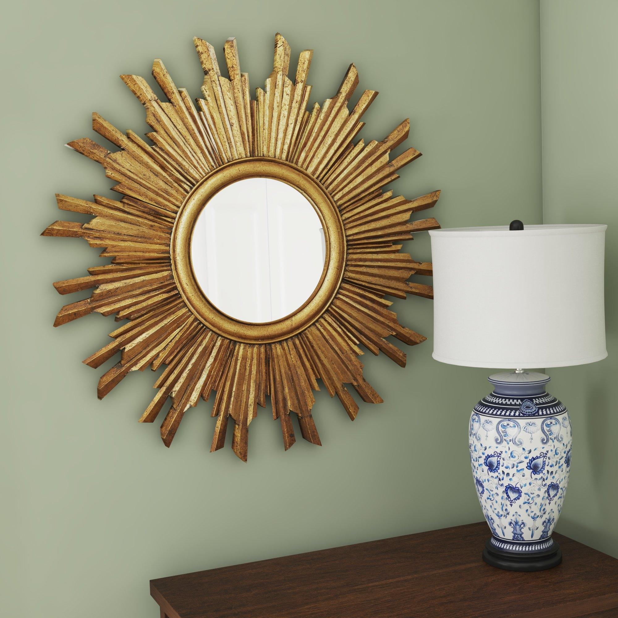 Sunburst Mirrors Youll Love Wayfair For Sun Mirrors For Sale (Image 12 of 15)