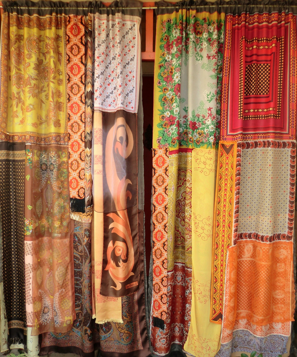 Sunshine And Patchouli Handmade Gypsy Curtains With Regard To Bohemian Curtains (View 6 of 15)
