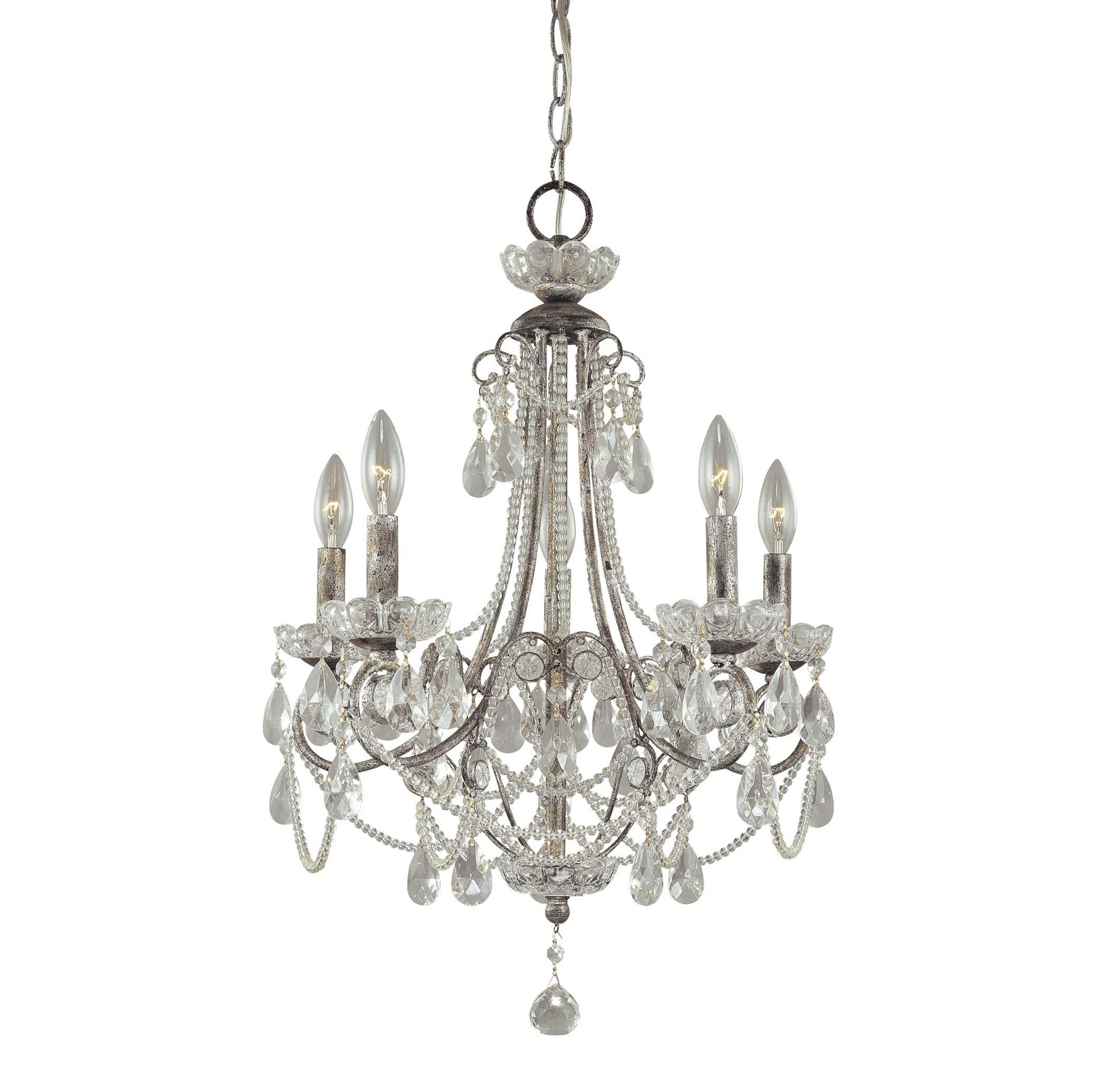 Superb Mini Crystal Chandelier Pendants 10 Crystal Mini Chandelier Regarding Small Chrome Chandelier (Image 13 of 15)