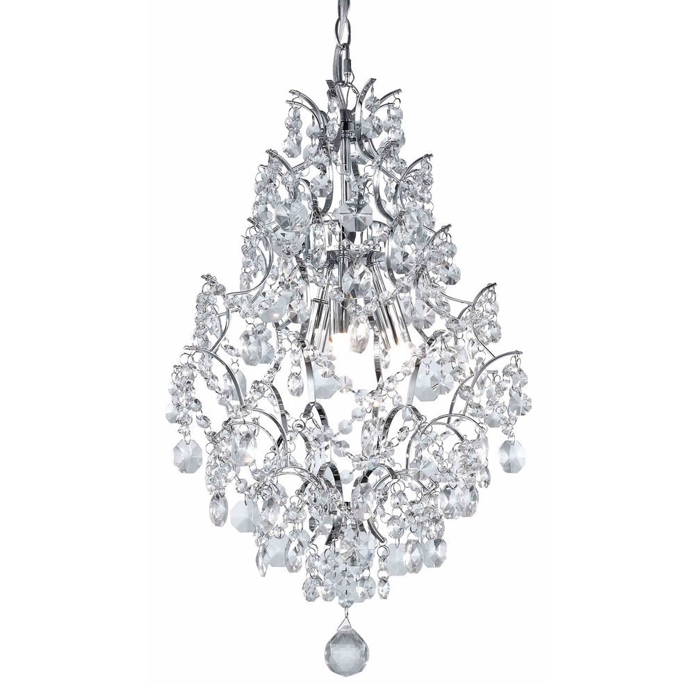 Superb Mini Crystal Chandelier Pendants 10 Crystal Mini Chandelier With Small Chrome Chandelier (Image 14 of 15)