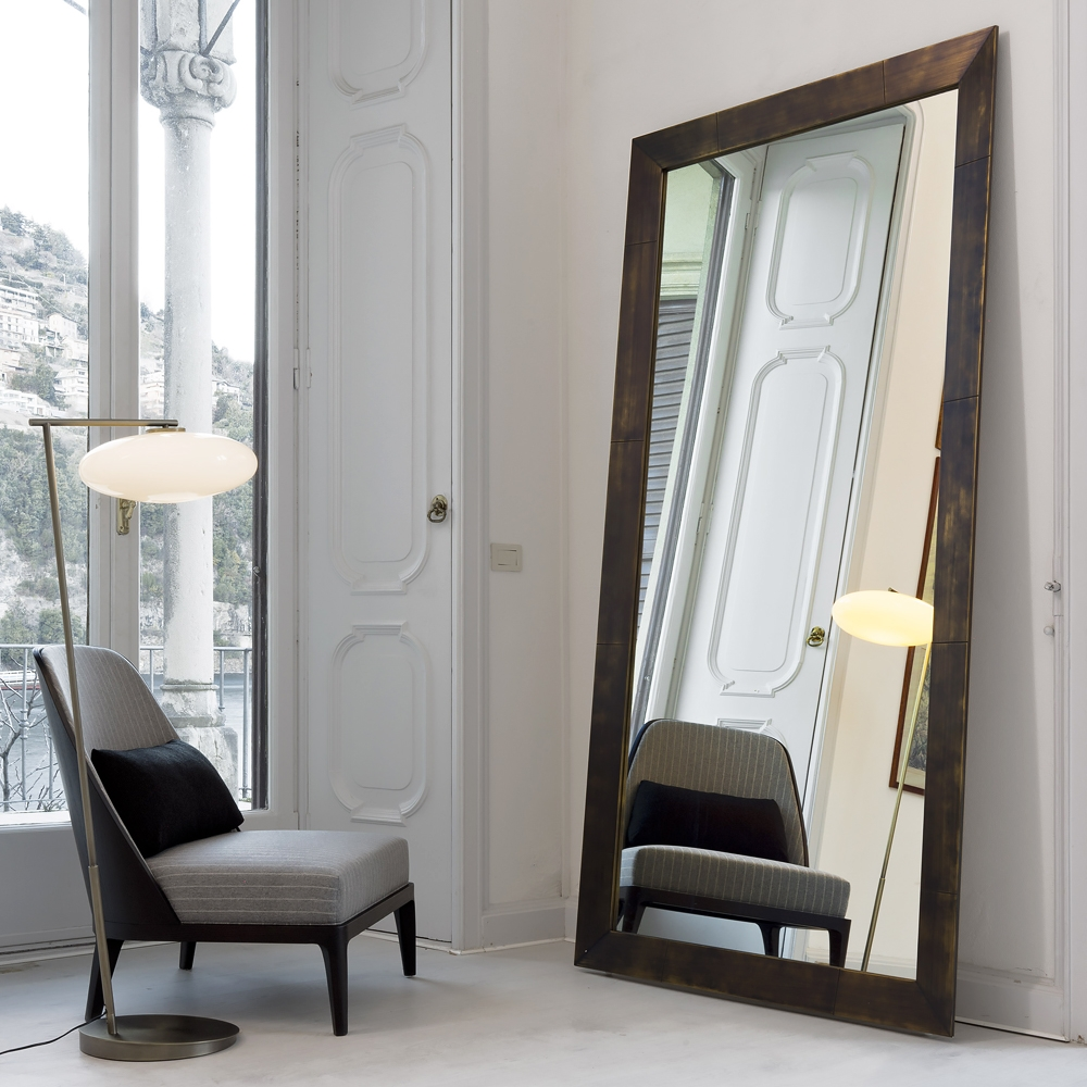 Superior Huge Wall Mirrors 3 Large Italian Freestanding Floor For Huge Wall Mirrors (Image 14 of 15)