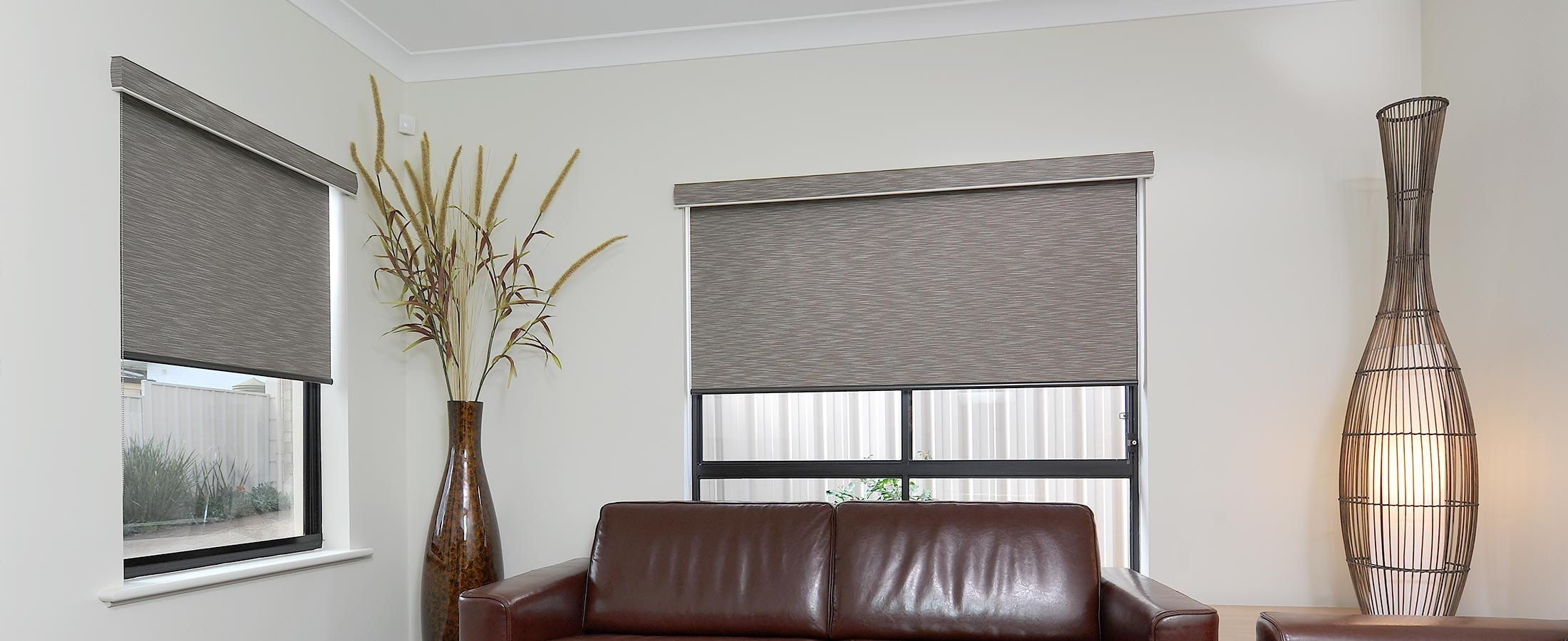 Superior Roller Blinds Perth Abc Blinds Biggest Range Pertaining To Fabric Roller Blinds (Image 13 of 15)