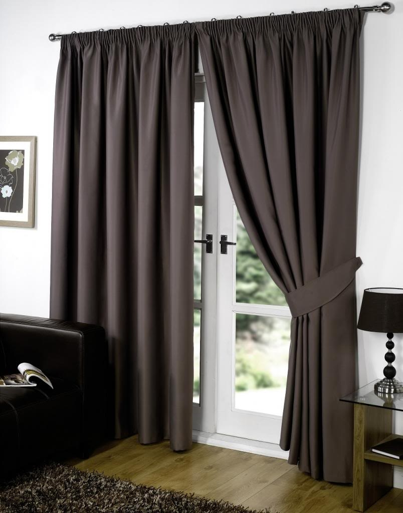 Supersoft Thermal Blackout Curtains Bedroom Curtain Black Silver Regarding Thermal Bedroom Curtains (Image 14 of 15)