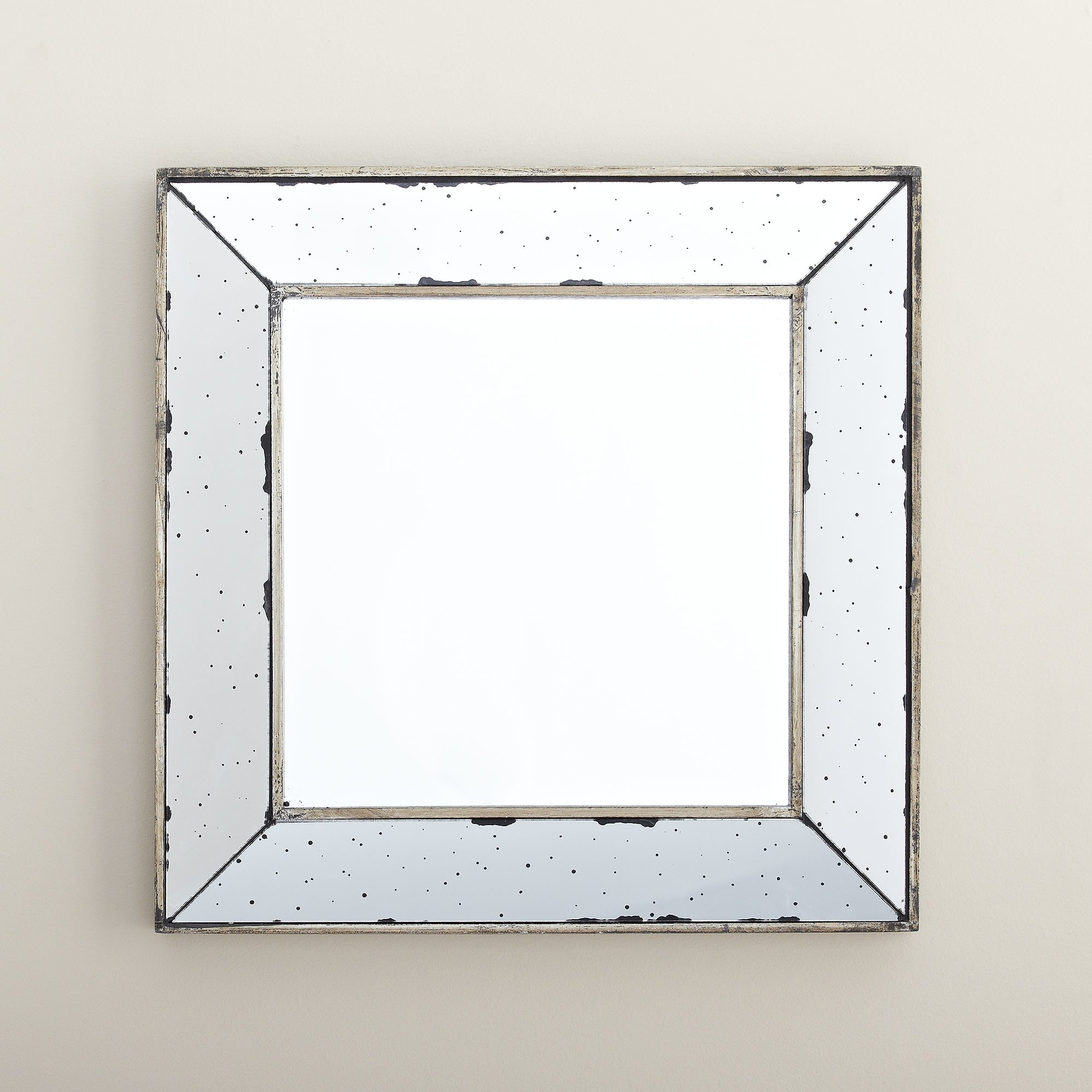 Susa Square Wall Mirror Reviews Joss Main Intended For Square Wall Mirror (Image 15 of 15)