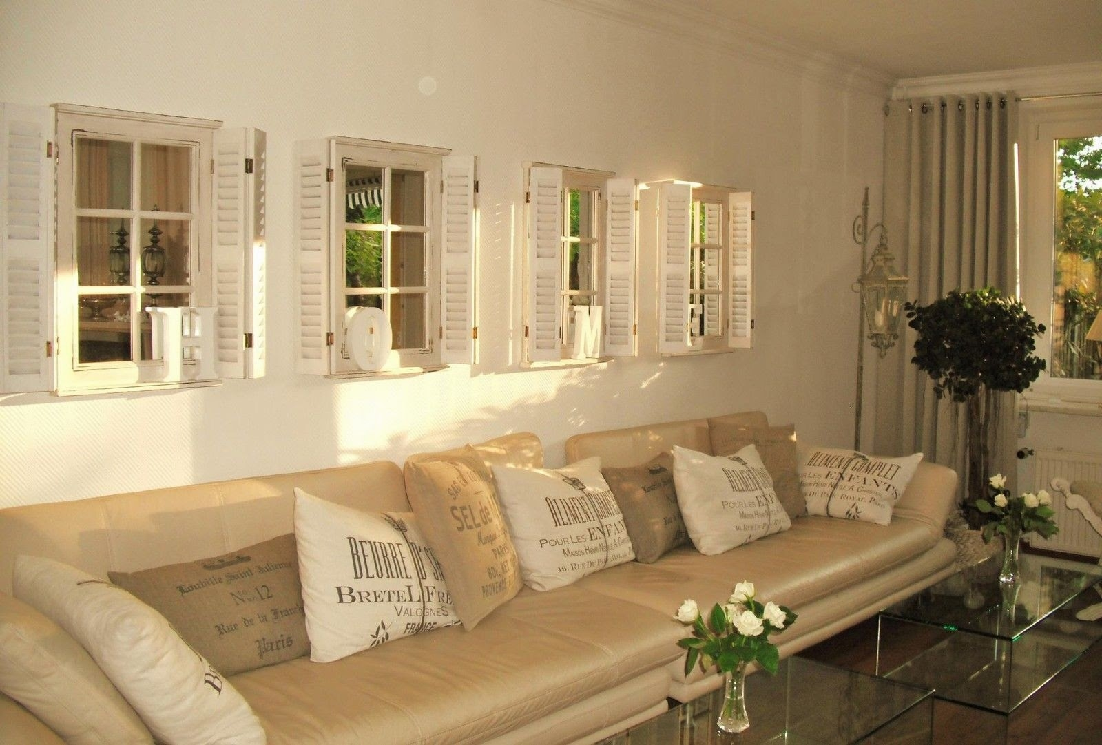 Featured Image of Wall Mirror With Shutters