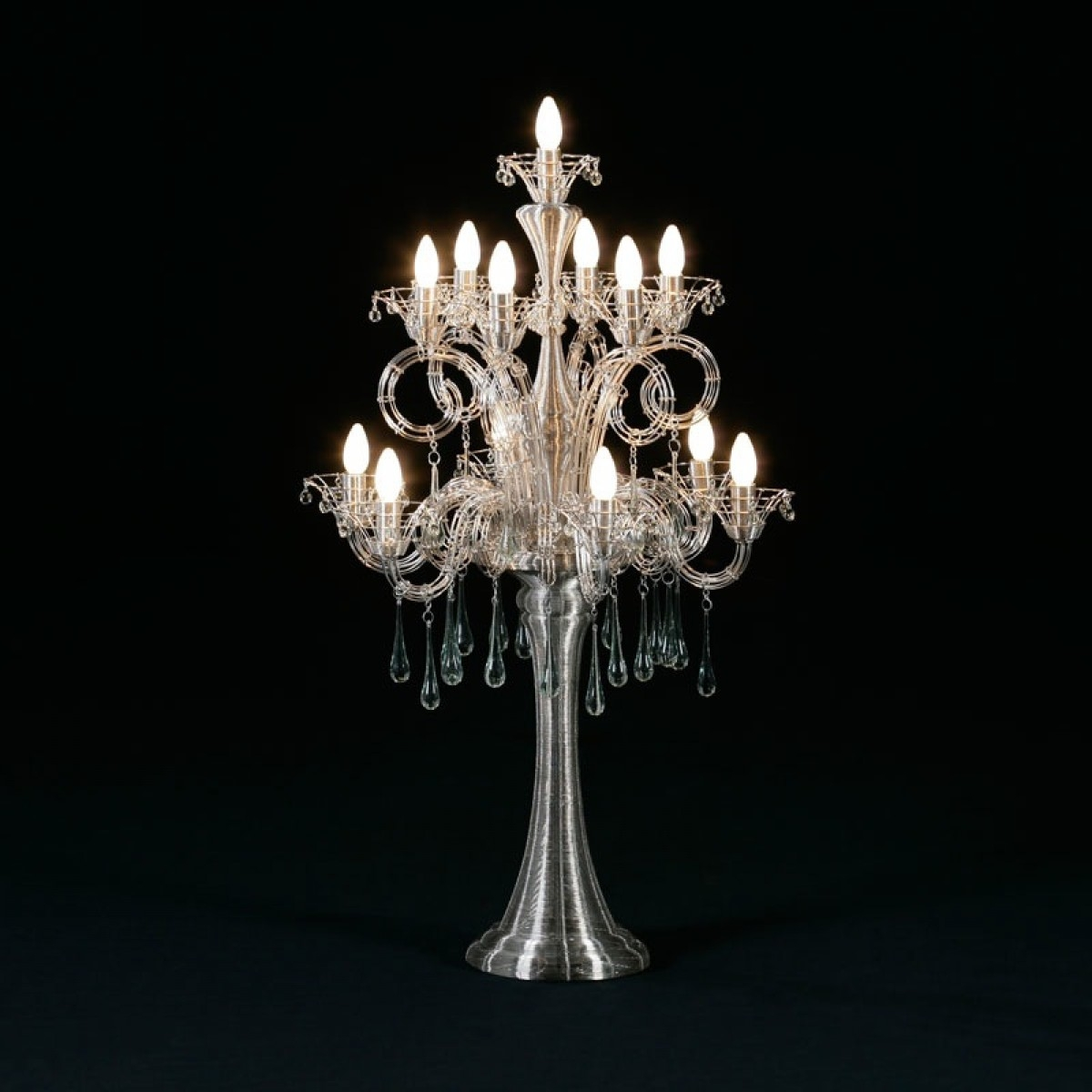 Table Chandelier New For Your Home Decoration Ideas With Table With Regard To Table Chandeliers (Image 11 of 15)