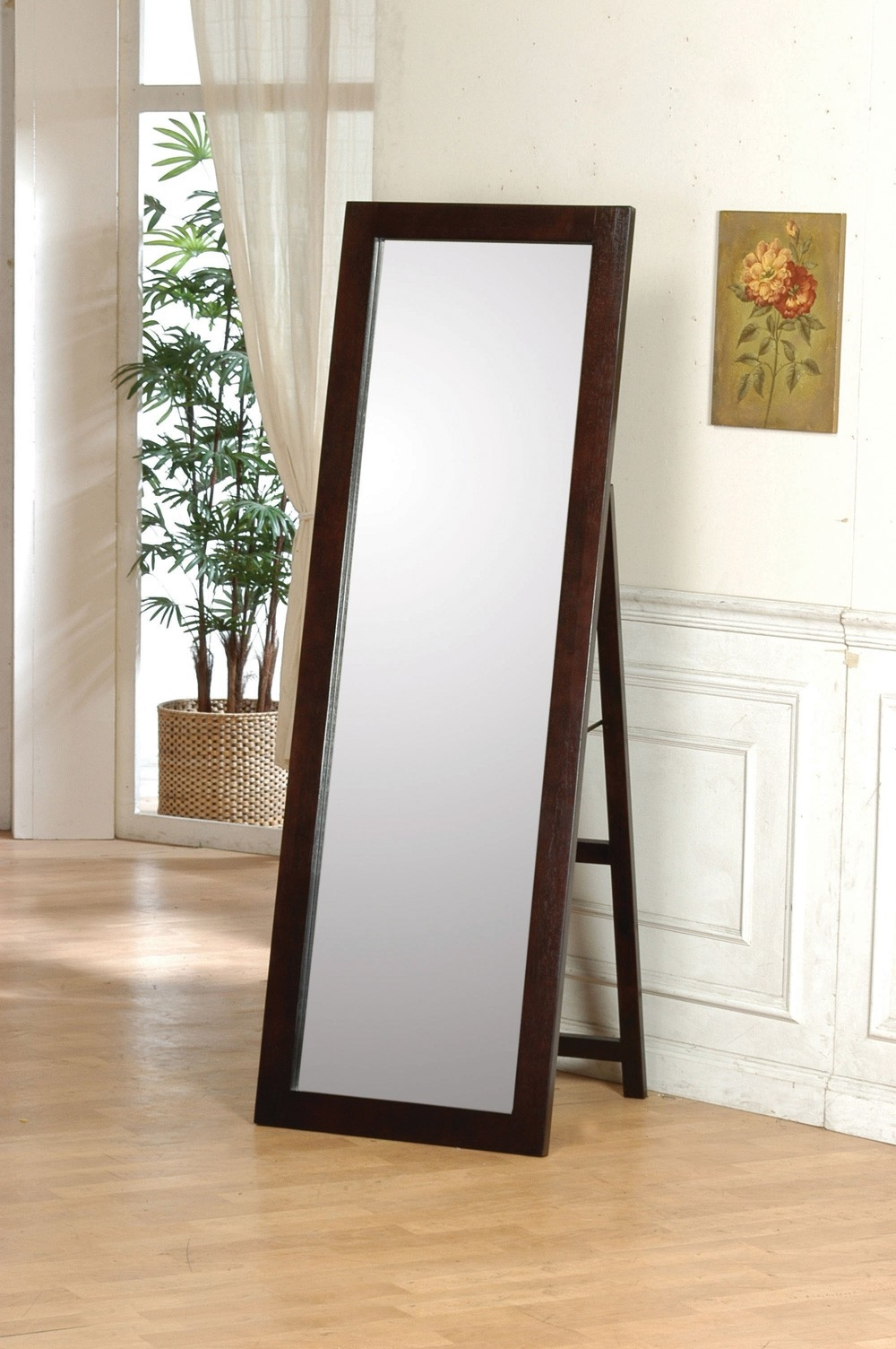 Tall 7ft Mirrors For More Contemporary Looks Within Contemporary Floor Standing Mirrors (Image 15 of 15)