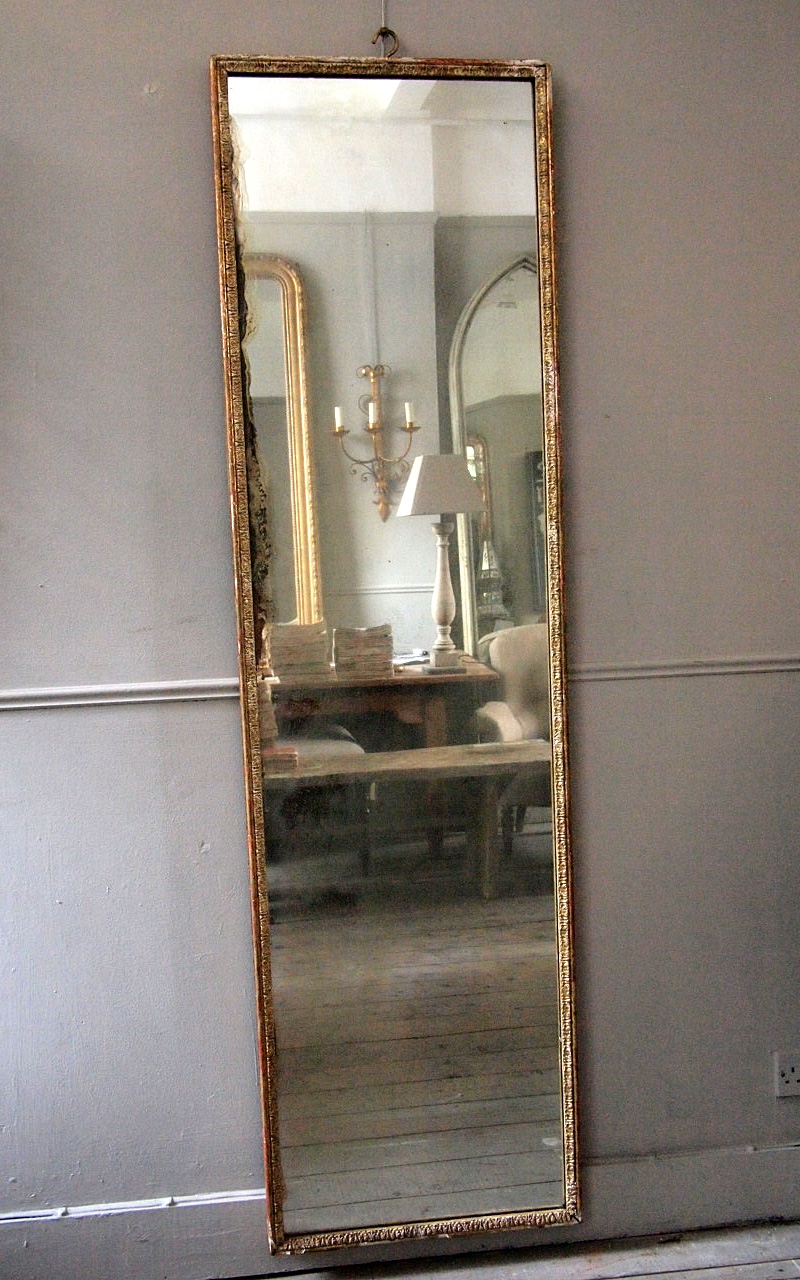 Tall French Dressing Mirror Puckhaber Decorative Antiques Within Tall Narrow Mirror (Image 8 of 15)