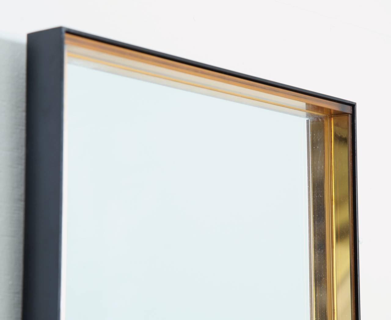 Tall Rectangular Hallway Mirror With Hardened Glass Frame Fontana For Long Gold Mirror (View 10 of 15)