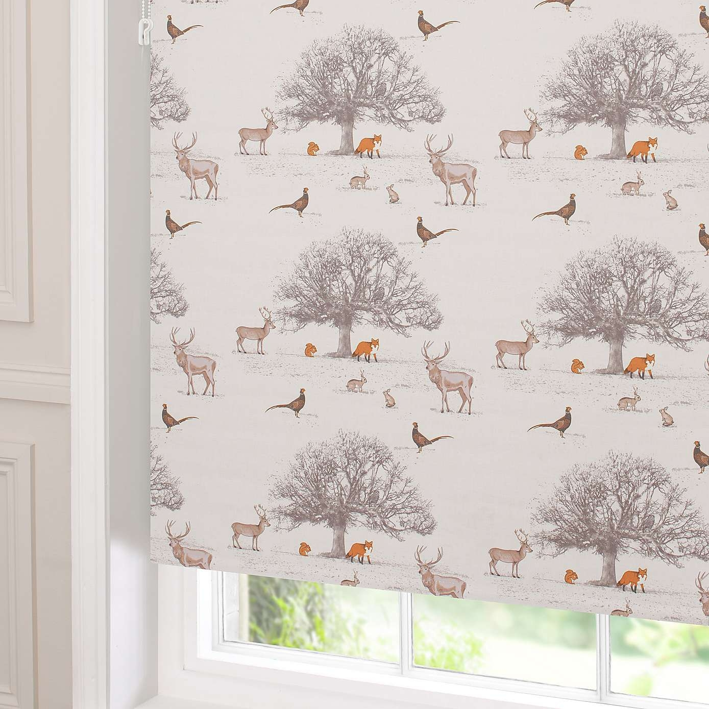 Tatton Blackout Roller Blind Dunelm Curtains Blinds Within Patterned Roller Blind (Image 14 of 15)