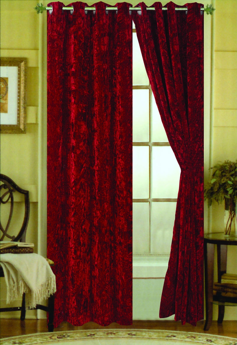 Taupe Velvet Curtains Mobiion Throughout Velveteen Curtains (Image 13 of 15)