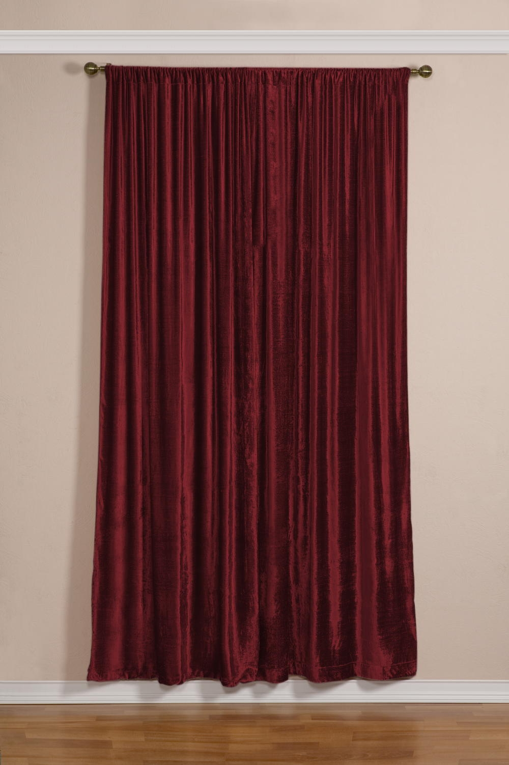 Taupe Velvet Curtains Mobiion With Regard To Velveteen Curtains (Image 14 of 15)