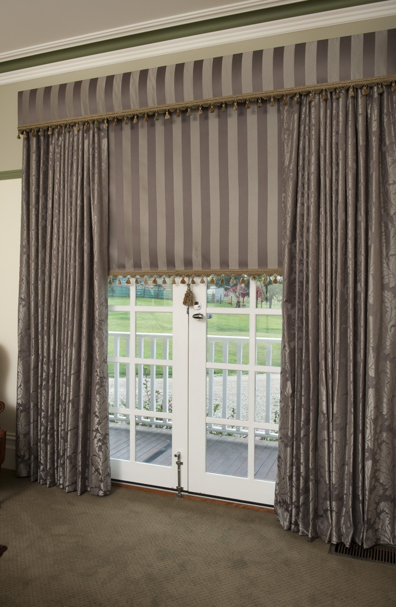 Test Ogormans Within Curtains With Matching Roman Blinds (Photo 9 of 15)
