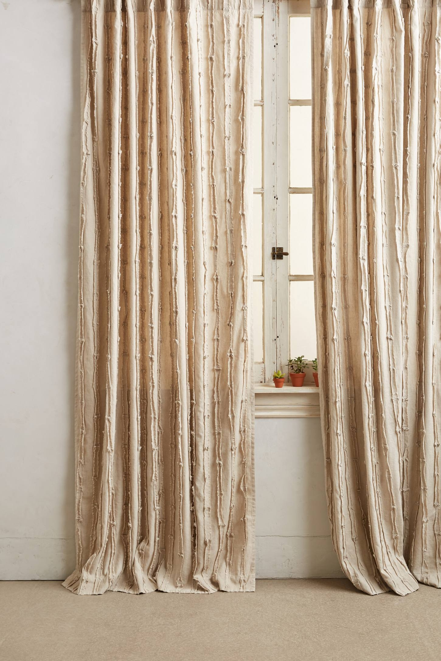 Textured Linen Curtain Linen Curtains Linens And Curtains Throughout Textured Linen Curtains (Image 13 of 15)