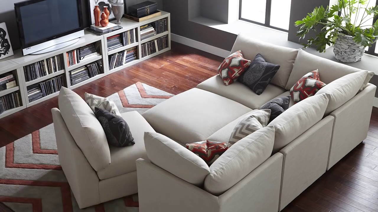 The Beckham Sectional Sofa Bassett Furniture Youtube Intended For Bassett Sectional Sofa (Image 14 of 15)