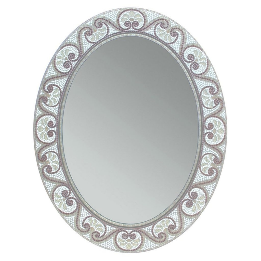 The Best Oval Mirrors For Your Bathroom Decor Snob Intended For White Oval Mirrors (Image 11 of 15)