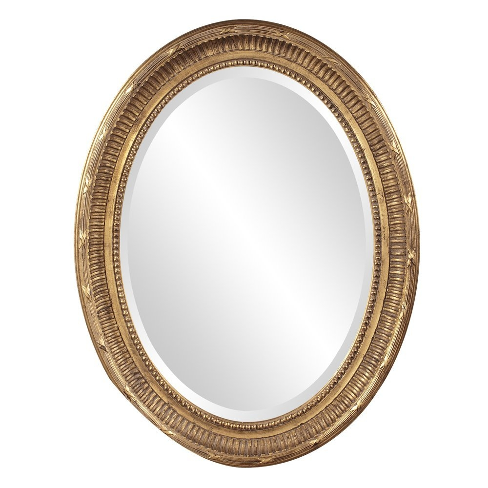 The Best Oval Mirrors For Your Bathroom Decor Snob Regarding Old Fashioned Mirrors (Image 14 of 15)