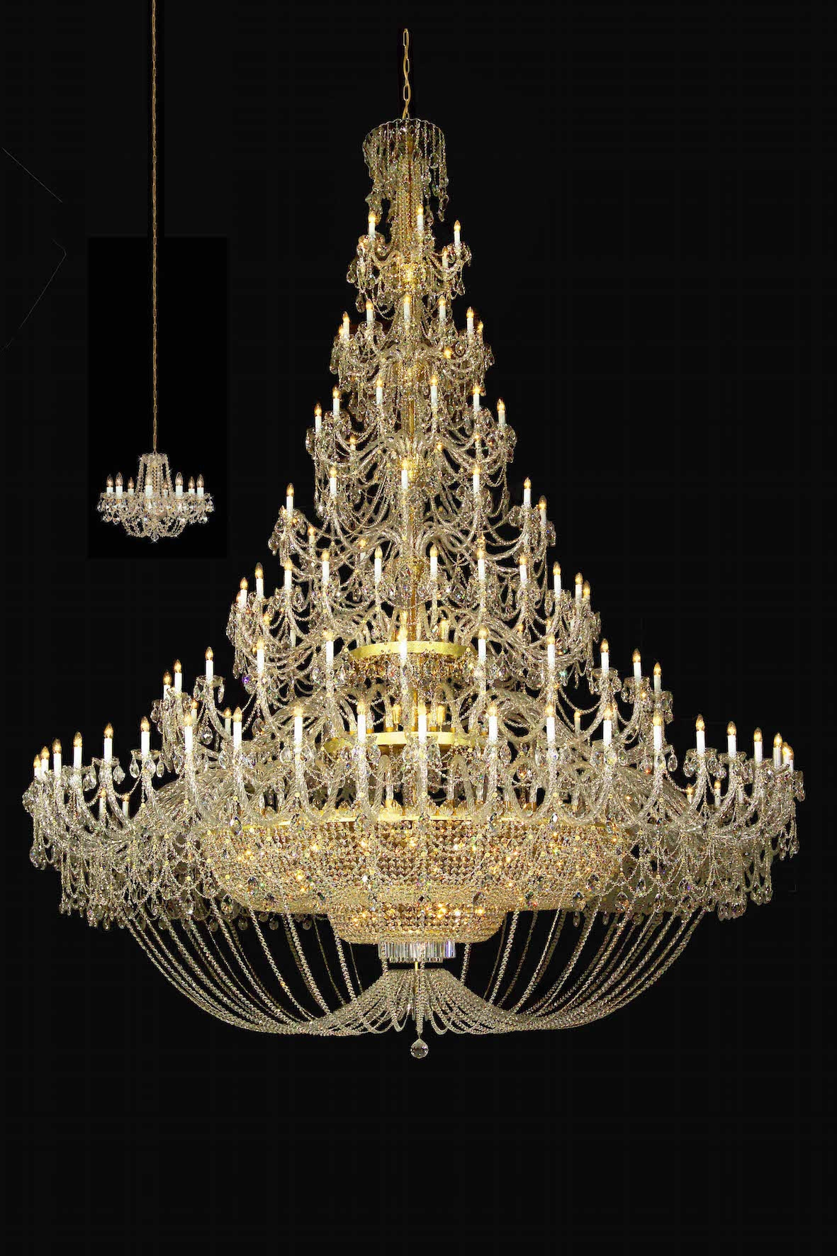 15 Best Ideas Big Crystal Chandelier
