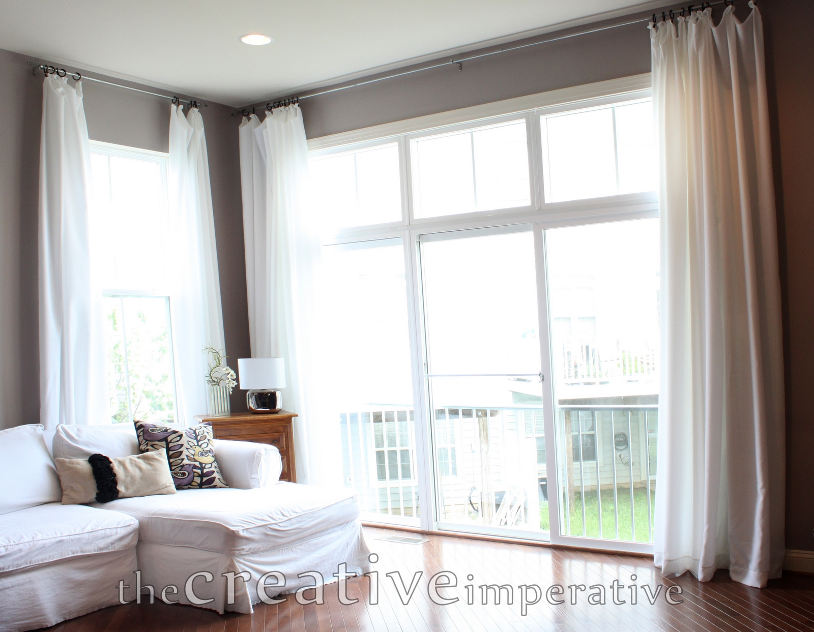 The Creative Imperative Extra Long Curtains For Super Cheap Pertaining To 8 Ft Drop Curtains (View 8 of 15)