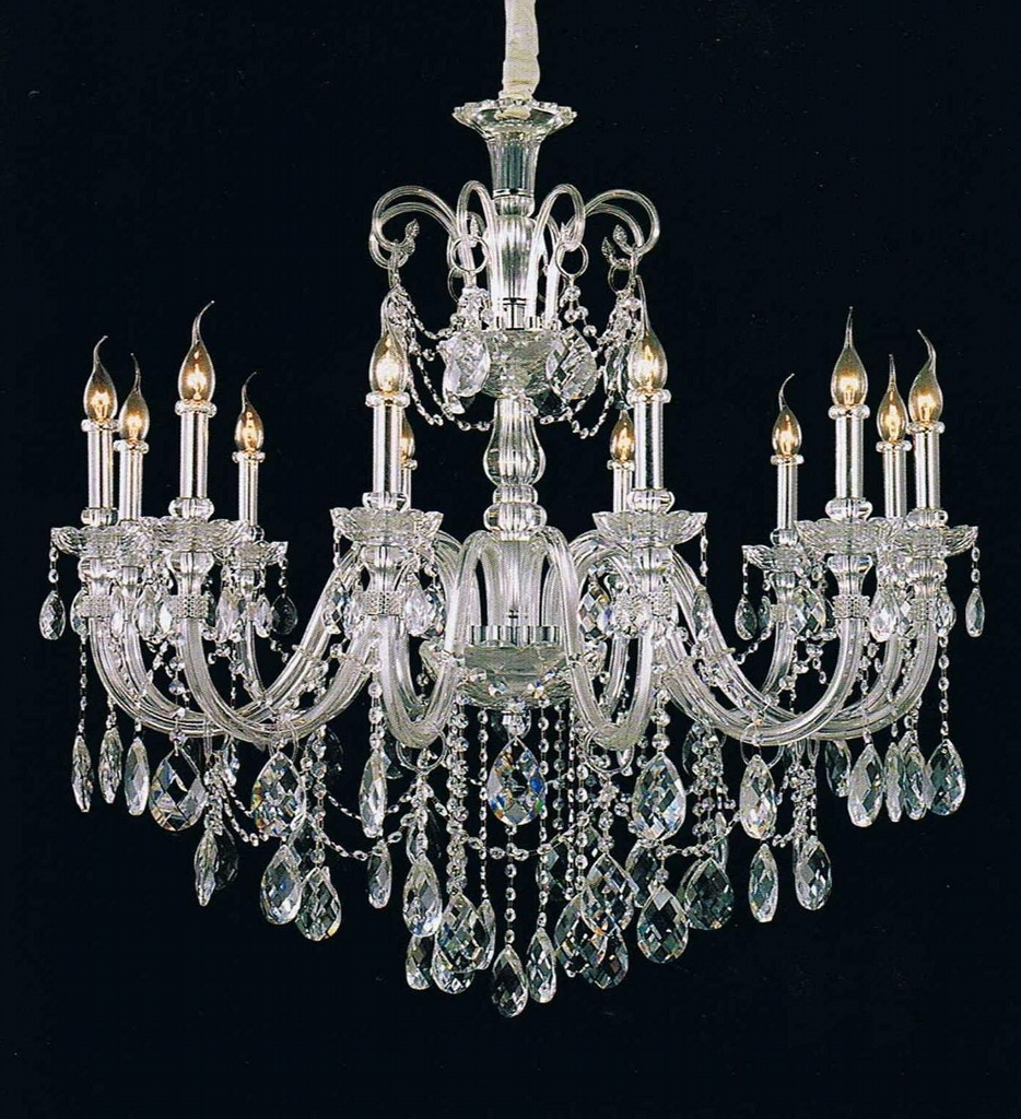 The Modern Crystal Chandelier Classic Crystal Chandelier 1 Mh For Crystal Chandeliers (View 2 of 15)