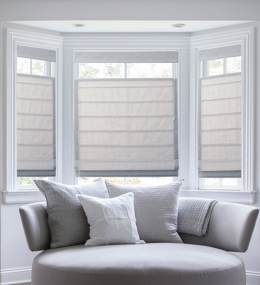 The Ultimate Guide To Blinds For Bay Windows Pertaining To Bay Window Roller Blinds (View 9 of 15)
