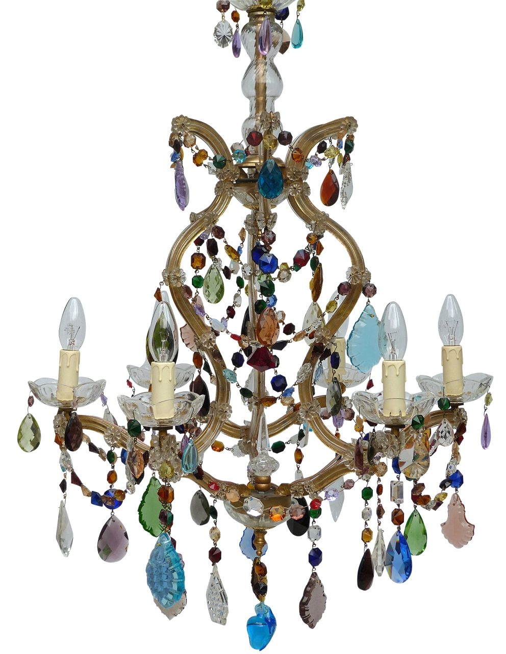 The Vintage Chandelier Companymulti Coloured Archives Page 3 Of With Coloured Chandeliers (Image 13 of 15)