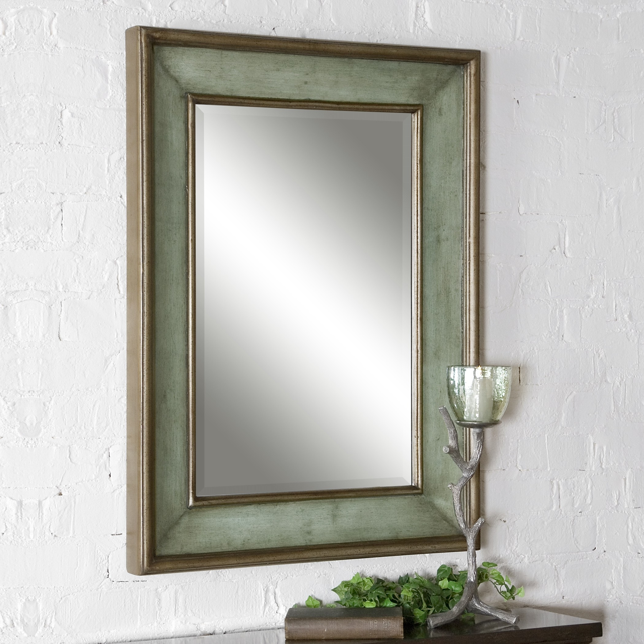 The Well Appointed House Luxuries For The Home The Well Throughout Mirror With Blue Frame (Image 13 of 15)