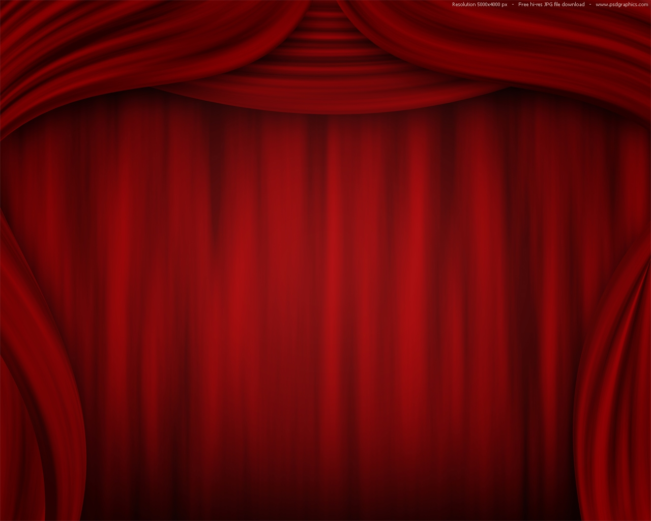 Theatrical Curtain Old Fashioned Elegant Theater Stage With Red With Dark Red Velvet Curtains (Image 12 of 15)