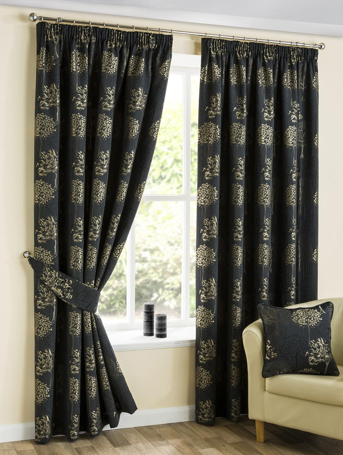 Thick Curtains Affordable Curtains Available Terrys Fabrics Regarding Thick Grey Curtains (Image 15 of 15)