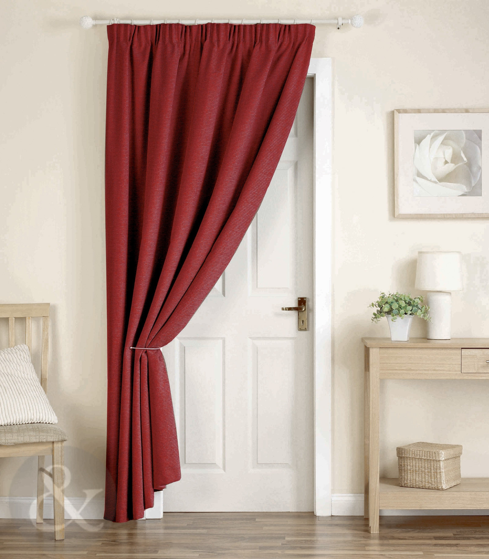 Thick Heavy Door Curtains Ready Made Thermal Lined 66 X 84 Door Intended For Heavy Lined Curtains (Image 13 of 15)