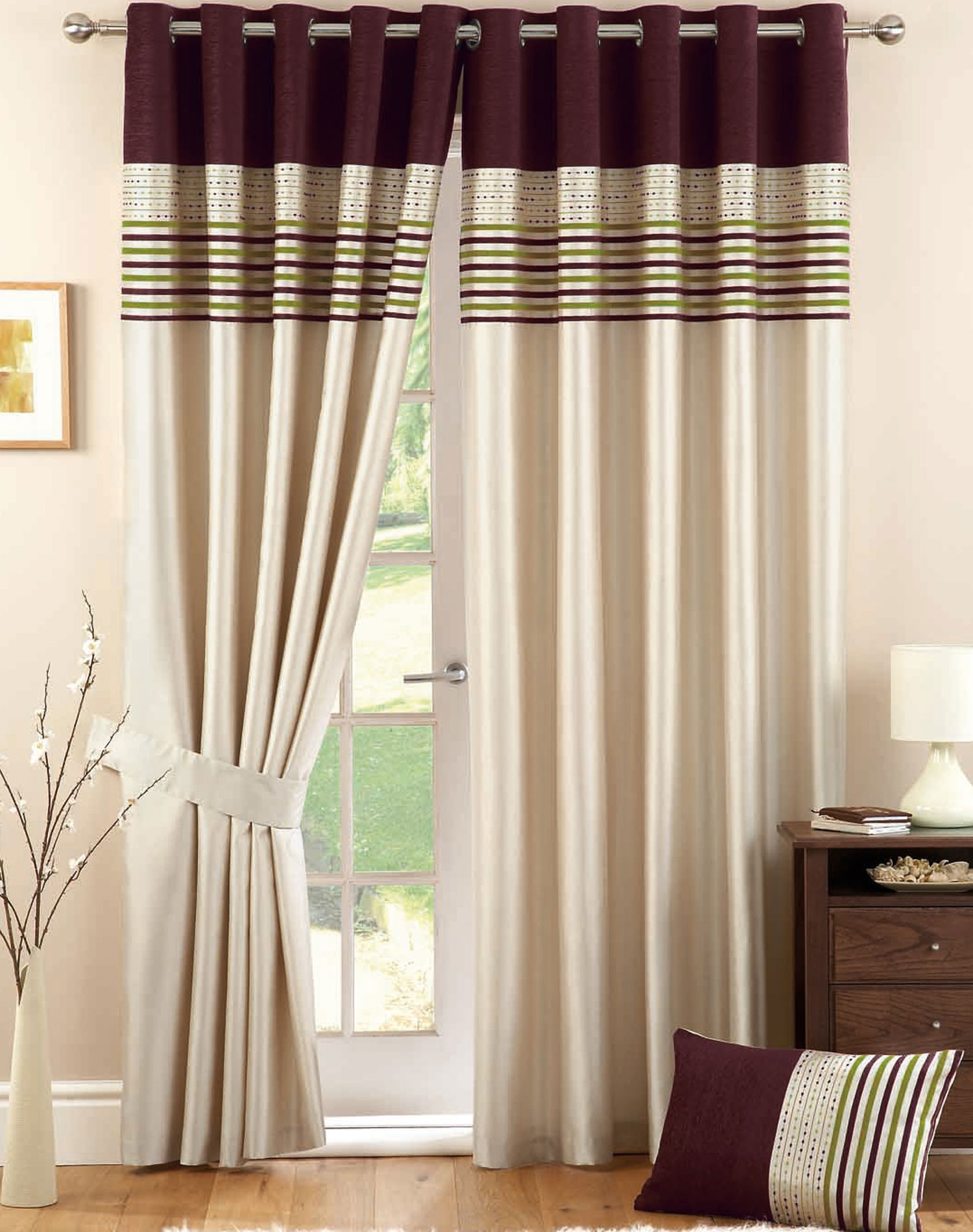 Thick Striped Curtains How To Make Comfortable Design In Striped For Thick Striped Curtains (View 9 of 15)