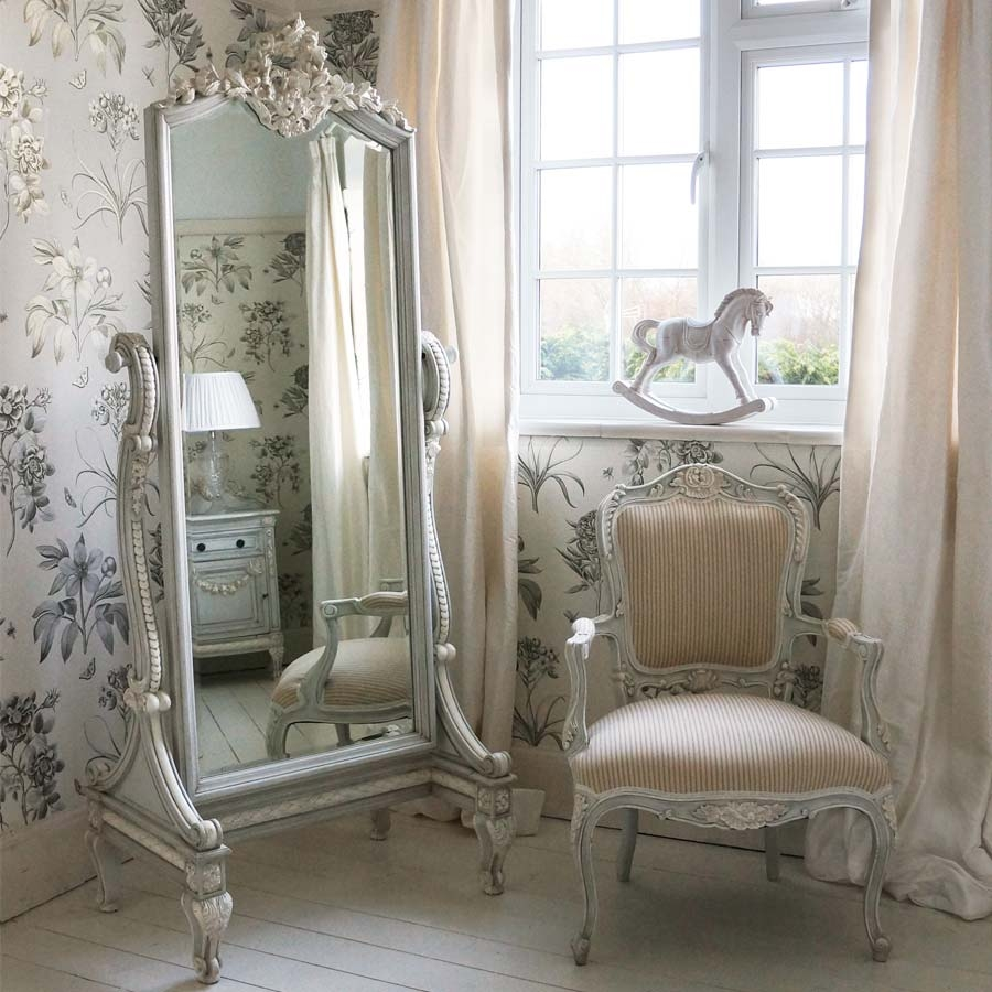 This Beautiful Gold Mirror Would Be The Perfect Addition To A Intended For Full Length French Mirror (View 3 of 15)