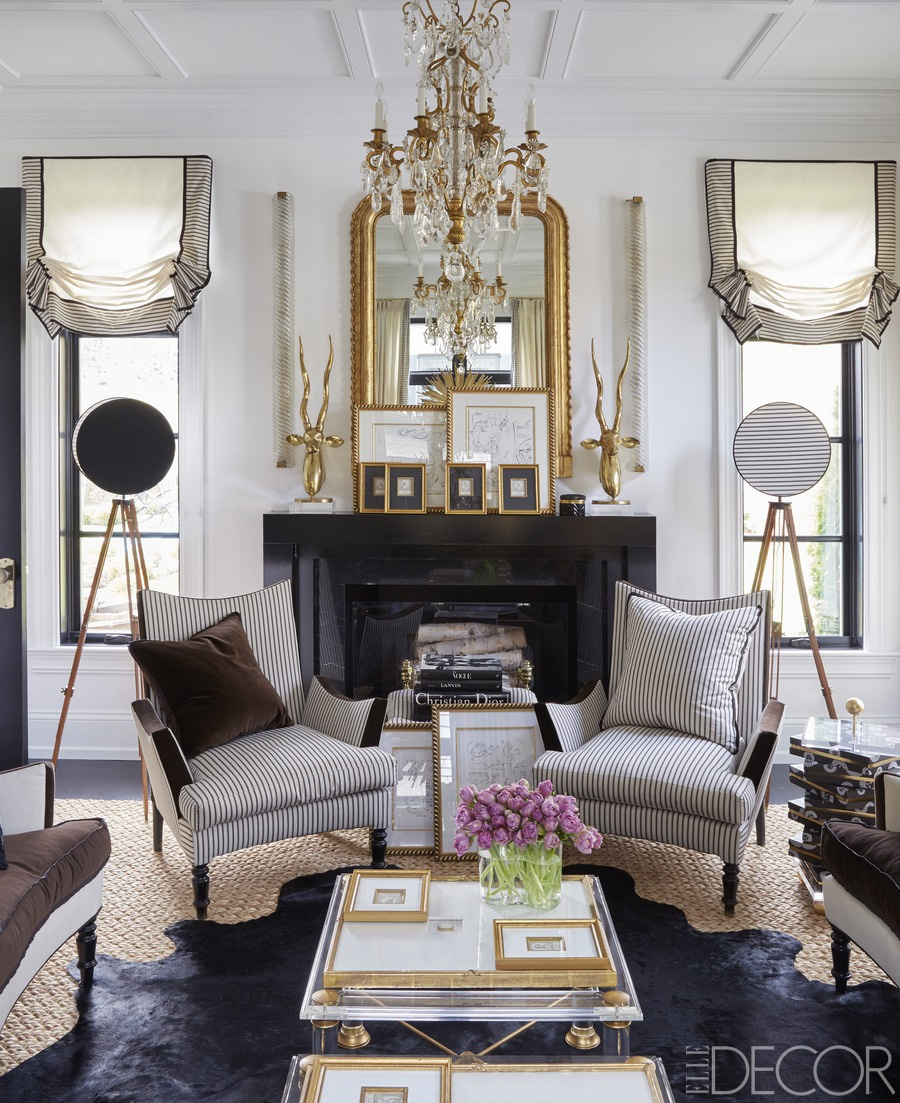 Top 10 Most Gorgeous Living Spaces Featuring Stunning Mirrors For Gold Mantle Mirror (Image 14 of 15)