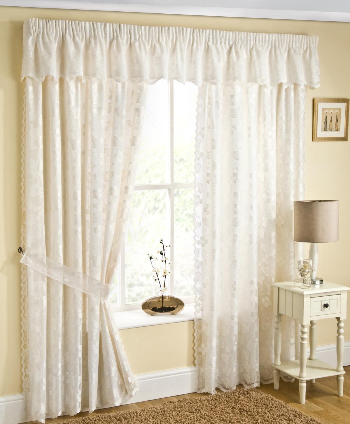 Top 30 Cheapest Lined Voile Curtains Uk Prices Best Deals On With Lined Cream Curtains (Image 15 of 15)