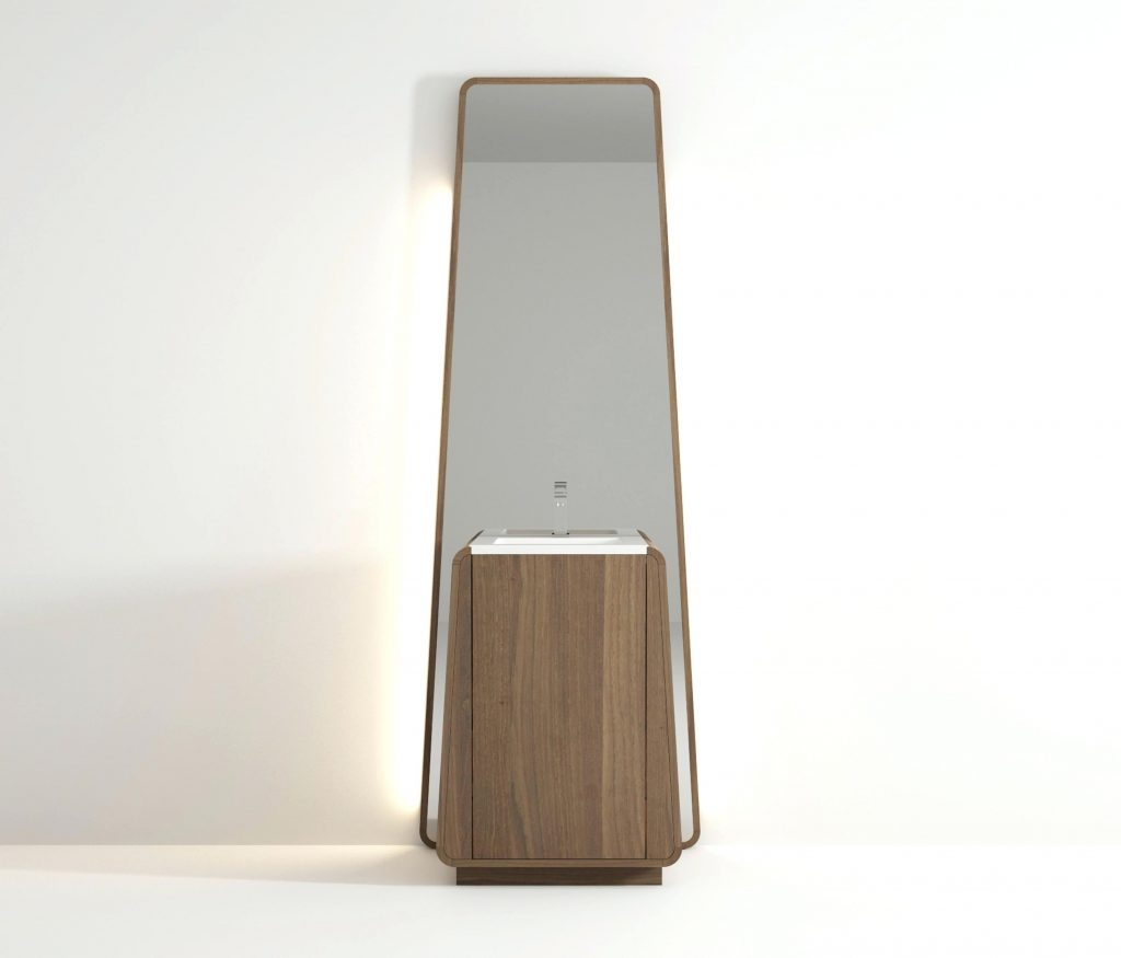 Totem Standing Basin Idi Studio Mirrorsbig Floor Mirrors Big For Big Standing Mirror (Image 12 of 15)